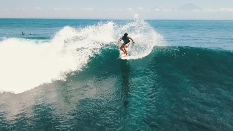 Surfing at Sumbawa
