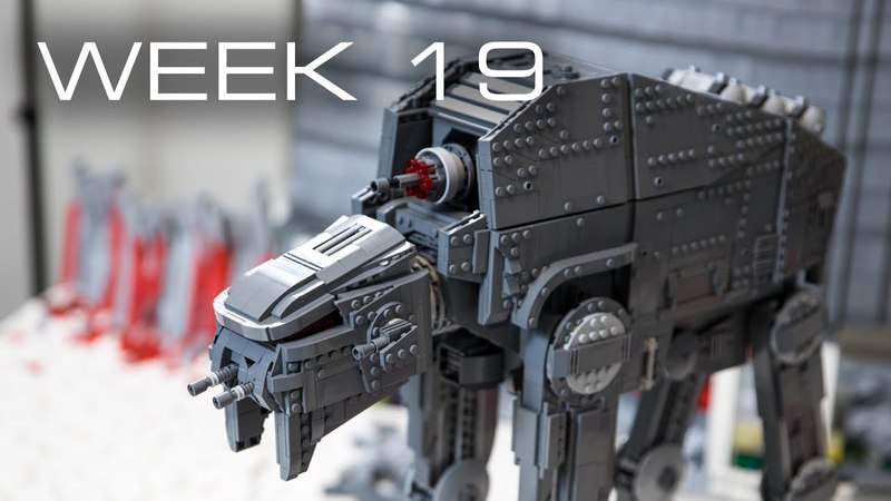 Building Crait in LEGO Week 19 AT M6