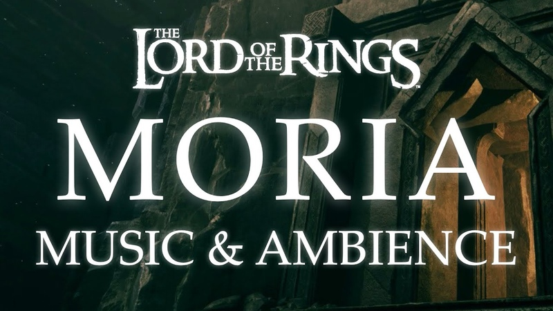 Moria Lord of the Rings Music Ambience Dwarven Music with Cavern Ambience