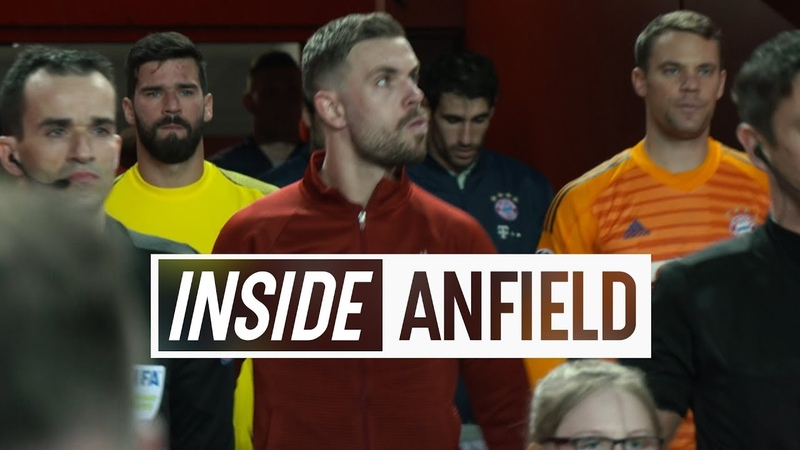 Inside Anfield Liverpool 0 0 Bayern Munich Behind the scenes from the Reds' goalless first leg