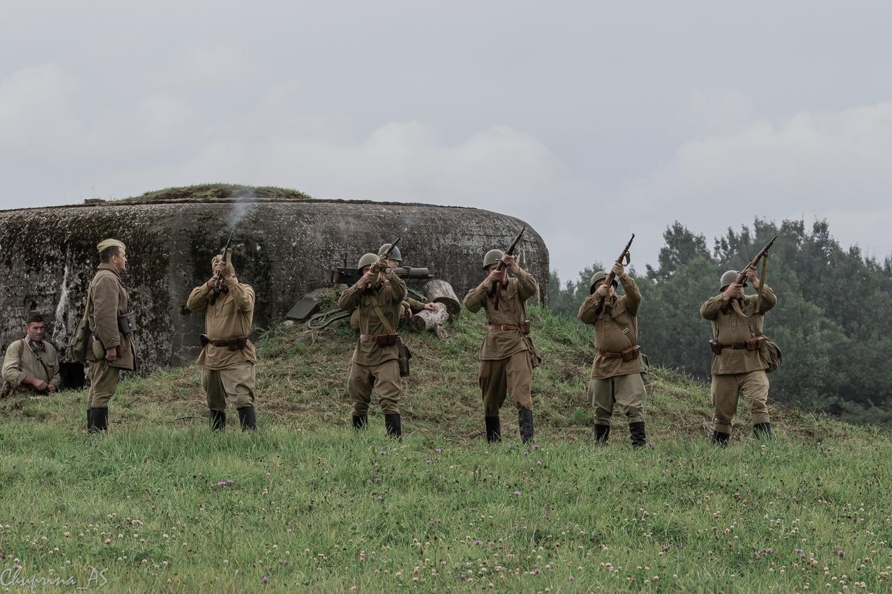Военно-исторический фестиваль в Корпикюля